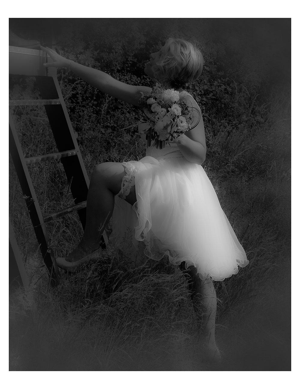 Noir et Blanc 4 - Jolie Mariée r