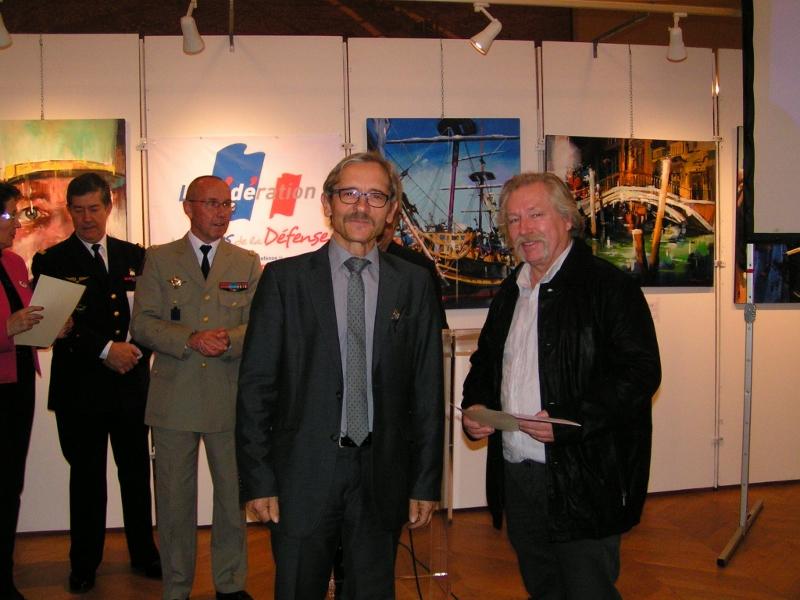 Jean-François Michelet (à droite)
