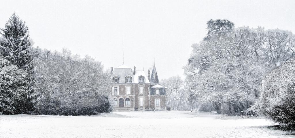 La neige et le château